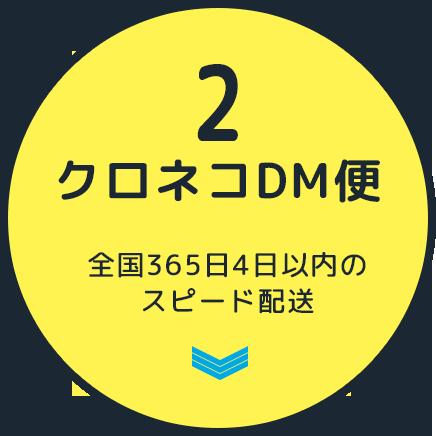 2 クロネコDM便